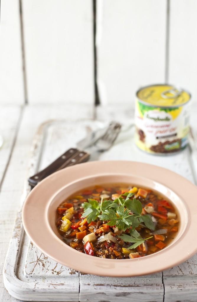 Pikantna zupa z soczewicy12